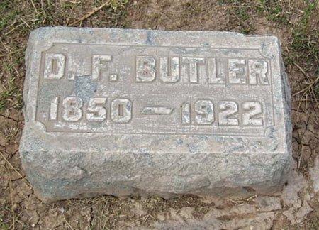 BUTLER, D. F. - Maricopa County, Arizona | D. F. BUTLER - Arizona Gravestone Photos