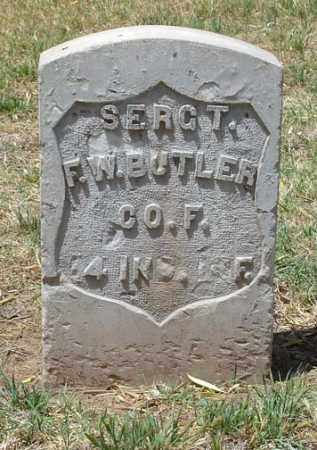 BUTLER, FRANKLIN W. - Maricopa County, Arizona | FRANKLIN W. BUTLER - Arizona Gravestone Photos