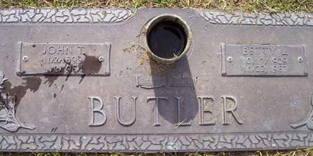 BUTLER, JOHN T. - Maricopa County, Arizona | JOHN T. BUTLER - Arizona Gravestone Photos