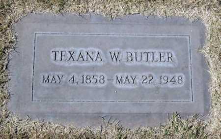 WILLIAMS BUTLER, TEXANA W. - Maricopa County, Arizona | TEXANA W. WILLIAMS BUTLER - Arizona Gravestone Photos