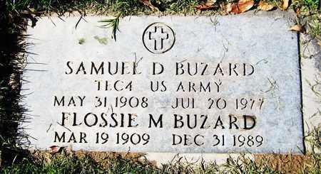 BUZARD, SAMUEL D. - Maricopa County, Arizona   SAMUEL D. BUZARD - Arizona Gravestone Photos