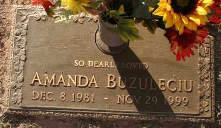 BUZULECIU, AMANDA - Maricopa County, Arizona | AMANDA BUZULECIU - Arizona Gravestone Photos
