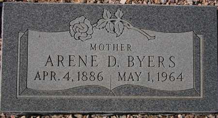 BYERS, ARENE D. - Maricopa County, Arizona   ARENE D. BYERS - Arizona Gravestone Photos