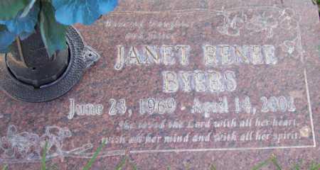 BYERS, JANET RENEE - Maricopa County, Arizona   JANET RENEE BYERS - Arizona Gravestone Photos