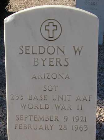 BYERS, SELDON W. - Maricopa County, Arizona | SELDON W. BYERS - Arizona Gravestone Photos