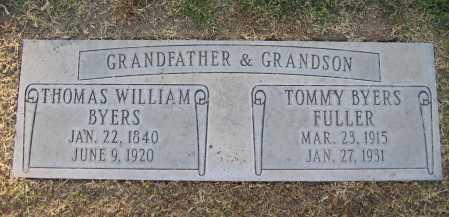 FULLER, TOMMY BYERS - Maricopa County, Arizona | TOMMY BYERS FULLER - Arizona Gravestone Photos