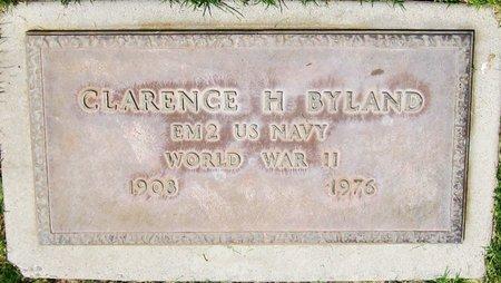 BYLAND, CLARENCE H. - Maricopa County, Arizona   CLARENCE H. BYLAND - Arizona Gravestone Photos