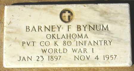 BYNUM, BARNEY F. - Maricopa County, Arizona | BARNEY F. BYNUM - Arizona Gravestone Photos