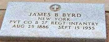 BYRD, JAMES B. - Maricopa County, Arizona   JAMES B. BYRD - Arizona Gravestone Photos