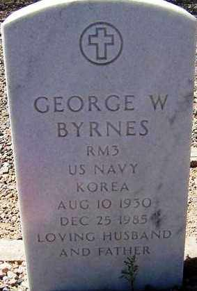 BYRNES, GEORGE W. - Maricopa County, Arizona | GEORGE W. BYRNES - Arizona Gravestone Photos