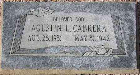 CABRERA, AGUSTIN L. - Maricopa County, Arizona   AGUSTIN L. CABRERA - Arizona Gravestone Photos