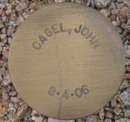 CAGEL, JOHN - Maricopa County, Arizona | JOHN CAGEL - Arizona Gravestone Photos