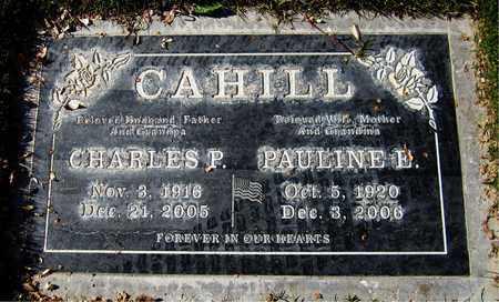 CAHILL, PAULINE E. - Maricopa County, Arizona | PAULINE E. CAHILL - Arizona Gravestone Photos