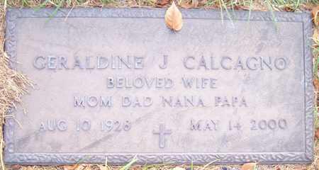 CALCAGNO, GERALDINE J. - Maricopa County, Arizona | GERALDINE J. CALCAGNO - Arizona Gravestone Photos