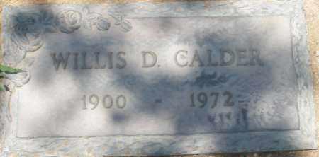 CALDER, WILLIS D. - Maricopa County, Arizona   WILLIS D. CALDER - Arizona Gravestone Photos