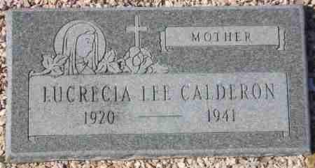 CALDERON, LUCRECIA LEE - Maricopa County, Arizona | LUCRECIA LEE CALDERON - Arizona Gravestone Photos