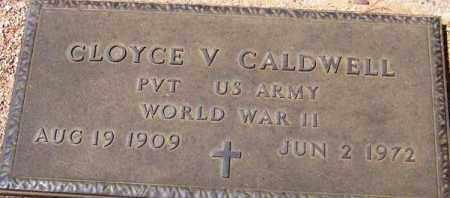 CALDWELL, CLOYCE V. - Maricopa County, Arizona   CLOYCE V. CALDWELL - Arizona Gravestone Photos