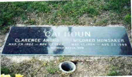HUNSAKER CALHOUN, MILDRED - Maricopa County, Arizona   MILDRED HUNSAKER CALHOUN - Arizona Gravestone Photos