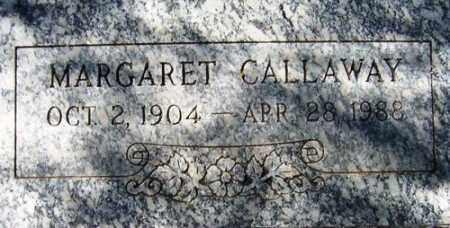 CALLAWAY, MARGARET - Maricopa County, Arizona | MARGARET CALLAWAY - Arizona Gravestone Photos