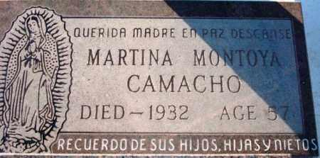 CAMACHO, MARTINA - Maricopa County, Arizona   MARTINA CAMACHO - Arizona Gravestone Photos