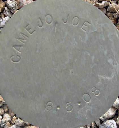CAMEJO, JOE - Maricopa County, Arizona   JOE CAMEJO - Arizona Gravestone Photos