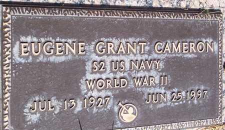 CAMERON, EUGENE GRANT - Maricopa County, Arizona   EUGENE GRANT CAMERON - Arizona Gravestone Photos
