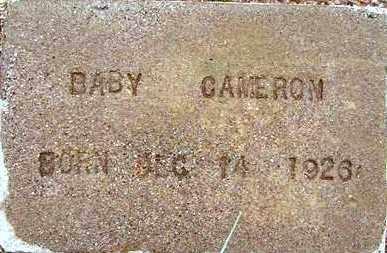 CAMERON, BABY FREDERIC, JR - Maricopa County, Arizona | BABY FREDERIC, JR CAMERON - Arizona Gravestone Photos