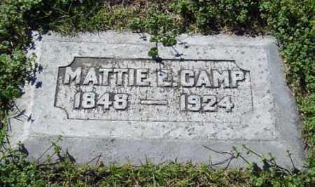 "CAMP, MARTHA ""MATTIE"" - Maricopa County, Arizona | MARTHA ""MATTIE"" CAMP - Arizona Gravestone Photos"
