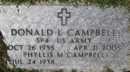 CAMPBELL, DONALD L. - Maricopa County, Arizona | DONALD L. CAMPBELL - Arizona Gravestone Photos