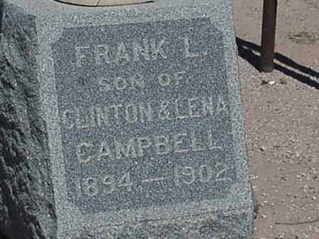 CAMPBELL, FRANK LEISTER - Maricopa County, Arizona | FRANK LEISTER CAMPBELL - Arizona Gravestone Photos