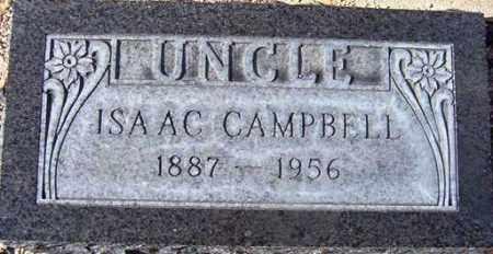 CAMPBELL, ISAAC - Maricopa County, Arizona | ISAAC CAMPBELL - Arizona Gravestone Photos