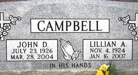 GUEST CAMPBELL, LILLIAN A. - Maricopa County, Arizona | LILLIAN A. GUEST CAMPBELL - Arizona Gravestone Photos
