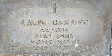 CAMPING, RALPH - Maricopa County, Arizona | RALPH CAMPING - Arizona Gravestone Photos