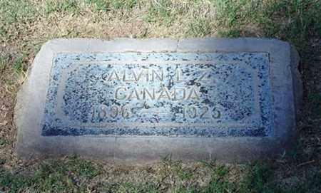 CANADA, ALVIN L. Z. - Maricopa County, Arizona   ALVIN L. Z. CANADA - Arizona Gravestone Photos