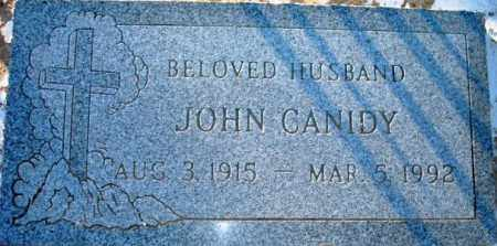 CANIDY, JOHN - Maricopa County, Arizona | JOHN CANIDY - Arizona Gravestone Photos