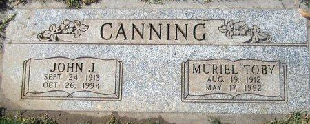 CANNING, JOHN J - Maricopa County, Arizona   JOHN J CANNING - Arizona Gravestone Photos