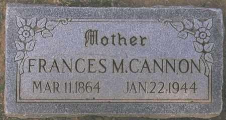 CANNON, FRANCES M. - Maricopa County, Arizona | FRANCES M. CANNON - Arizona Gravestone Photos