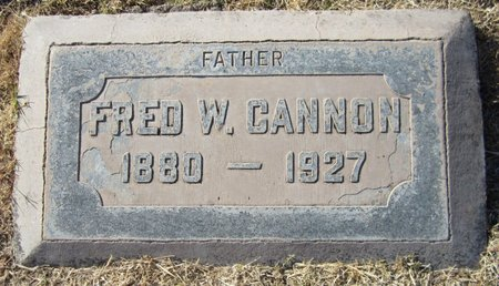 """CANNON, FREDERICK WILLIAM """"FRED"""" - Maricopa County, Arizona 