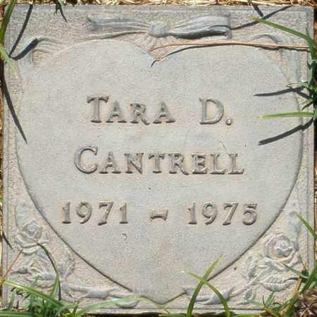 CANTRELL, TARA D. - Maricopa County, Arizona | TARA D. CANTRELL - Arizona Gravestone Photos