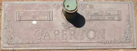 CAPERTON, POLK - Maricopa County, Arizona | POLK CAPERTON - Arizona Gravestone Photos