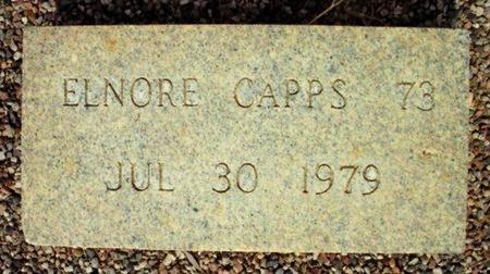 CAPPS, ELNORE - Maricopa County, Arizona | ELNORE CAPPS - Arizona Gravestone Photos