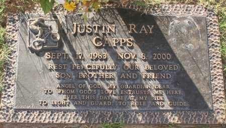 CAPPS, JUSTIN RAY - Maricopa County, Arizona   JUSTIN RAY CAPPS - Arizona Gravestone Photos