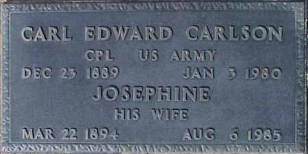 CARLSON, CARL EDWARD - Maricopa County, Arizona | CARL EDWARD CARLSON - Arizona Gravestone Photos