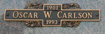 CARLSON, OSCAR W - Maricopa County, Arizona | OSCAR W CARLSON - Arizona Gravestone Photos