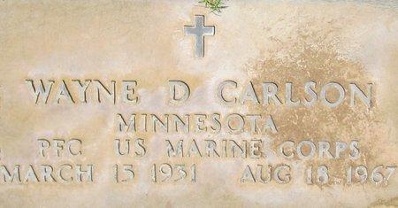 CARLSON, WAYNE D. - Maricopa County, Arizona | WAYNE D. CARLSON - Arizona Gravestone Photos
