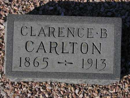 CARLTON, CLARENCE B. - Maricopa County, Arizona | CLARENCE B. CARLTON - Arizona Gravestone Photos
