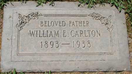 CARLTON, WILLIAM E. - Maricopa County, Arizona | WILLIAM E. CARLTON - Arizona Gravestone Photos
