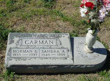 CARMAN, SANDRA ANNE - Maricopa County, Arizona | SANDRA ANNE CARMAN - Arizona Gravestone Photos