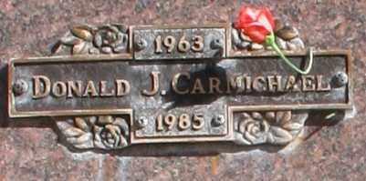 CARMICHAEL, DONALD J - Maricopa County, Arizona   DONALD J CARMICHAEL - Arizona Gravestone Photos