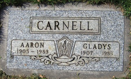 CARNELL, GLADYS - Maricopa County, Arizona | GLADYS CARNELL - Arizona Gravestone Photos